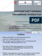Module 2_Conventional and Customary International Aviation Law