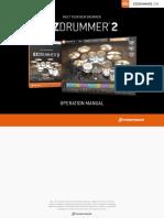 EZdrummer Operation Manual.pdf