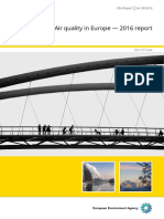 Air Quality in Europe Report 2016