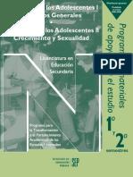 Desarrollo Adolescentes I y II