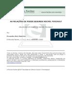 AS RELAÇÕES DE PODER EM FOUCAULT.pdf
