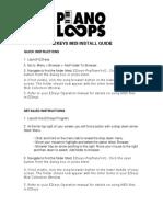 Ezkeys Poppiano Midi Install Guide