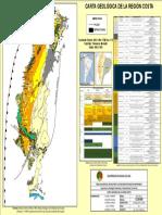 Mapa Geologico Region Costa