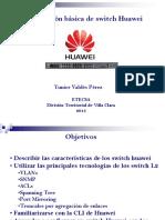 Configuracion SW Huawey
