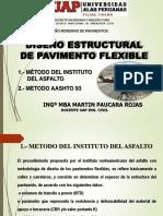 Diseño de Pavimentos Flexible Inst Del Asfalto