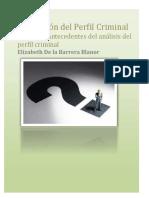 Unidad 1. Antecedentes Analisis Perfil Criminal