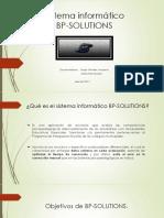 Sistema Informático BP-SOLUTIONS