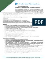 Edital Economia Solidária e Captação de Recursos