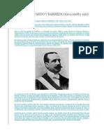 Biografia Jose Simon Pardo y Barreda