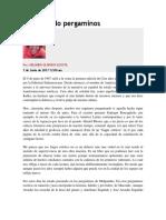 Descifrando Pergaminos (Orlando Oliveros)