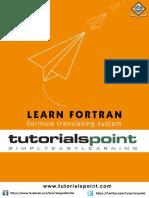 Fortran Tutorial
