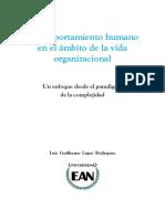 Comportamiento Humano en El Ámbito de La Vida Organizacional