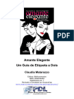 Microsoft Word - Claudia Matarazzo - Amante Elegante - Guia de Etiqueta a Dois.rev.Doc - Vendas@PDV