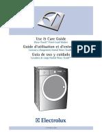 Electrolux Ewfls70jiw Use and Care Manual