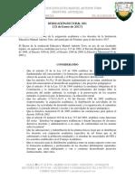 Resolución 01 de Asignación Académica