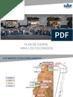 4 - Plan Cierre Mina Los Colorados - A. Ambler - CAP Mineria