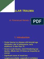 Ocular Trauma Dr. as-Ali 2 Oktober