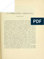 Calderon Barbagelata La Literatura Uruguaya 1757 1917 en Revue Hispanique t Xl 1917