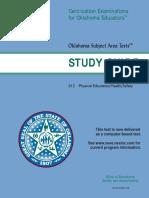 OK Certification PE Study Guide