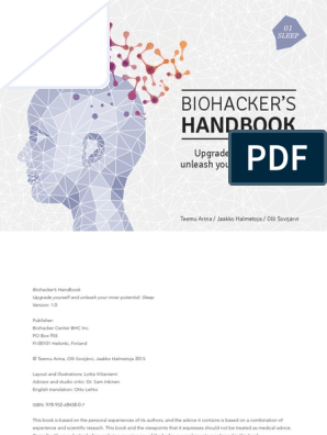 Biohackers Handbook Sleep | Sleep | Science