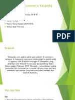 Analisis Sistem Ecommerce Tokopedia