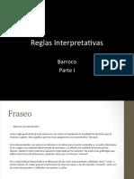 Presentation Barroco reglas interpretación