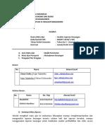 Analisis Laporan Keuangan Silabus Gasal 2016-2017
