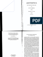 G. W. F. Hegel-Aesthetics_ Lectures on Fine Art Volume II (1975)