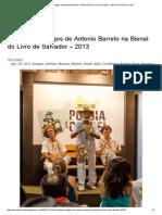 Cordelistas Amigos de Antonio Barreto Na Bienal Do Livro de Salvador – 2013 _ a Voz Do Cordel