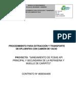 Pts Extraccion Efluentes Con Vacunm