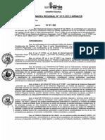 Ordenanza Regional 015 2012 GRSM CR (PTR SM)