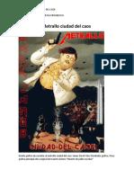 Metrallo Ciudad Del Caos - Darkjames Metal Colombia - Liricas