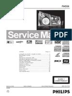 Service Manual AUDIO PHILIPS+FWD39-78