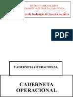 Caderneta Operacional