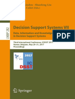 (Lecture Notes in Business Information Processing 282) Isabelle Linden, Shaofeng Liu, Christian Colot (Eds.)-Decision Support Systems VII. Data, Information and Knowledge Visualization in Decision Sup