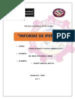 Informe de Iperc