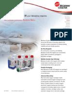 AU Clinical Chemistry Systems Menu Brochure
