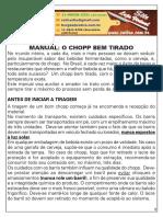 Manual Tirador Chopp