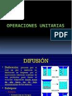Curso Operaciones Unitarias Difusion