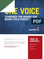 Brand Voice Standards