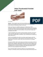 Cegah Infeksi Nosokomial Setelah Dari Rumah Sakit