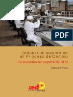Industrialización en el proceso de cambio