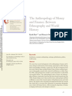 The Anthropology of Money and Finance- Between Ethnography and World History