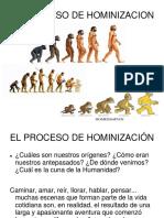 3- HOMINIZACIÓN