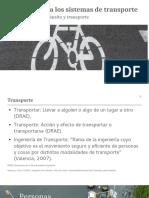 Sistema de Transportes Para Curso de Fundamentos