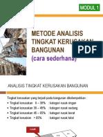 Analisis Kerusakan Bangunan menurut Dapodik.pptx