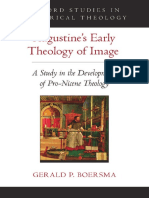 (Oxford Studies in Historical Theology) Boersma, Gerald P-Augustine's Early Theology of Image _ a Study in the Development of Pro-nicene Theology-Oxford University Press (2016)