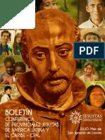 Boletín informativo de la Conferencia de Provinciales Jesuitas en América Latina (julio)
