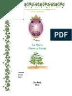 la planta flores y fruto.doc