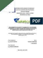 Informe de Pasantia Vicente Zambrano 1
